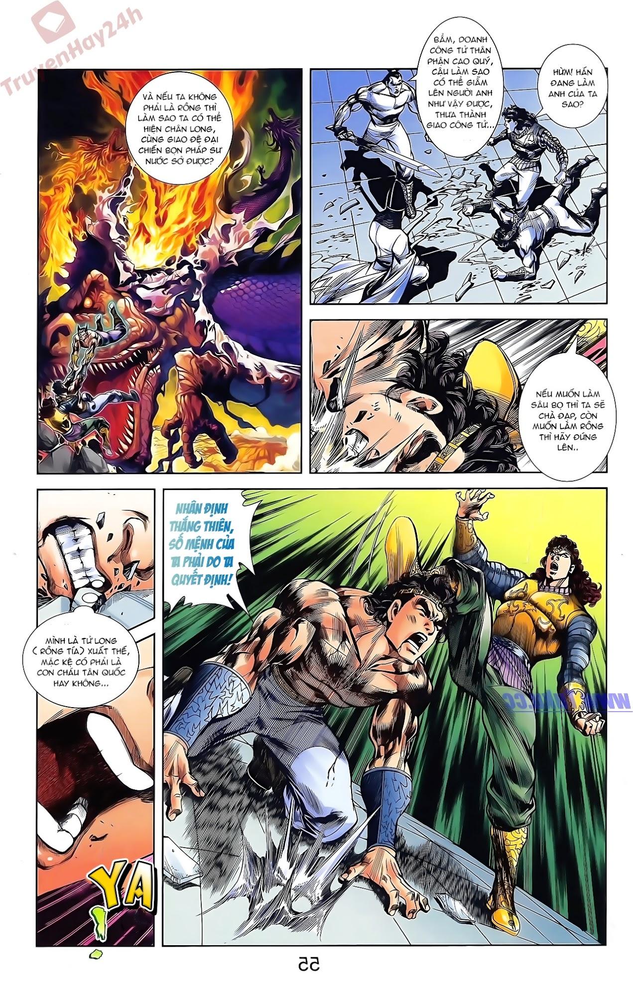 Tần Vương Doanh Chính chapter 44 trang 7