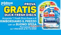 Logo Provami Gratis! Duck Fresh Discs ti rimborsa con un buono spesa! Operazione cashback