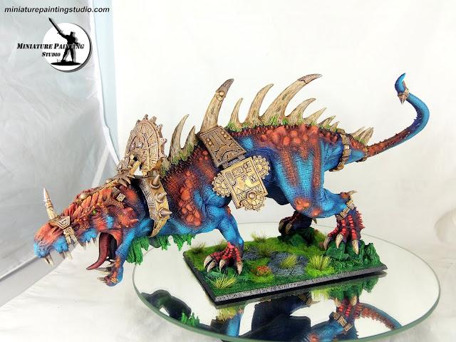 lizardman carnosaur Forge World