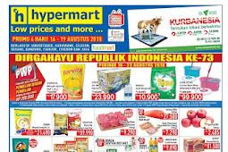 Katalog Promo Hypermart Weekend Terbaru 16 - 19 Agustus 2018