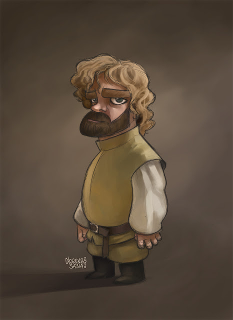 Game of Thrones Tyrion Lannister by Lorenzo Sabia