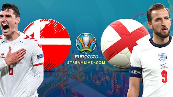 تقديم المباراه :  منتخب إنجلترا ❌ منتخب الدنمارك .