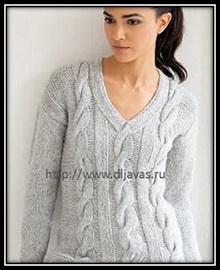 pulover s kosami