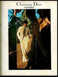 Christian Dior. moda anos 70; propaganda anos 70; história da década de 70; reclames anos 70; brazil in the 70s; Oswaldo Hernandez