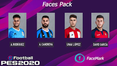 PES 2020 Facepack by Mark