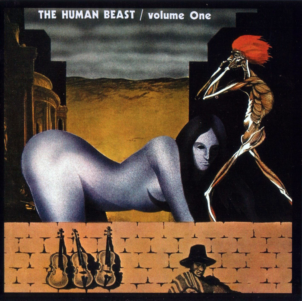 Plain and Fancy: The Human Beast - Volume One (1970 uk, hypnotic and hard  driving with intense guitar workouts in a classic psych mould, 2007  remaster)