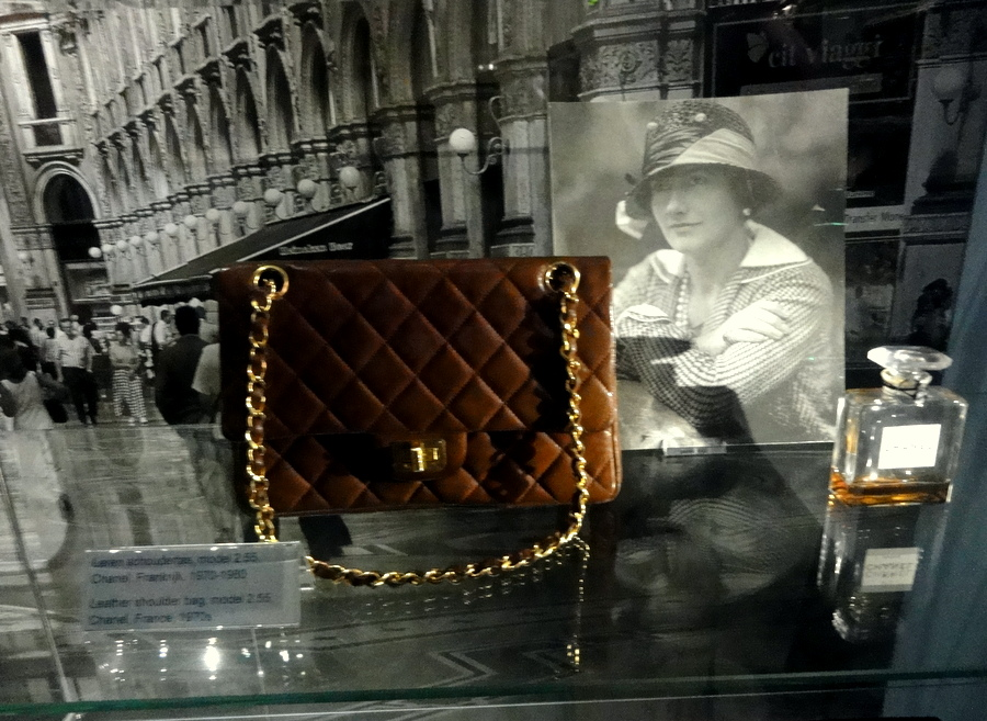 9476c6f95 Chanel 2.55 bag and Chanel No. 5 parfum. Coco Chanel was a kept woman, to  two rich men who are friends (Balsan, a French ex-military and wealthy  socialite ...
