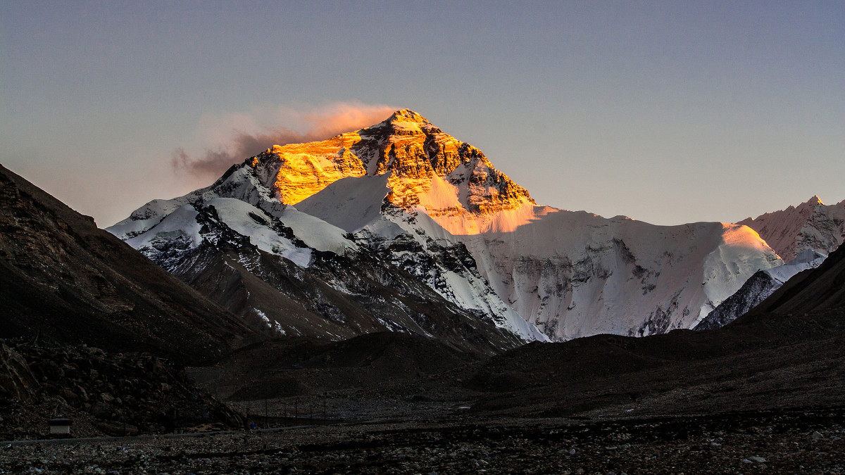You can see the most beautiful sunrise of Mount Everest.