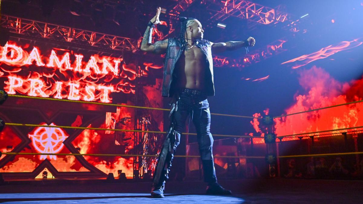 Damian Priest vem impressionando os dirigentes da WWE