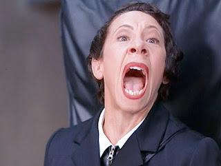 Frau's Yell in Austin Powers