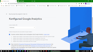 Konfigurasi setelan Google Analytics
