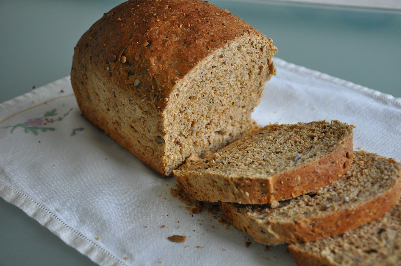 Aunt B on a Budget: Multigrain Bread
