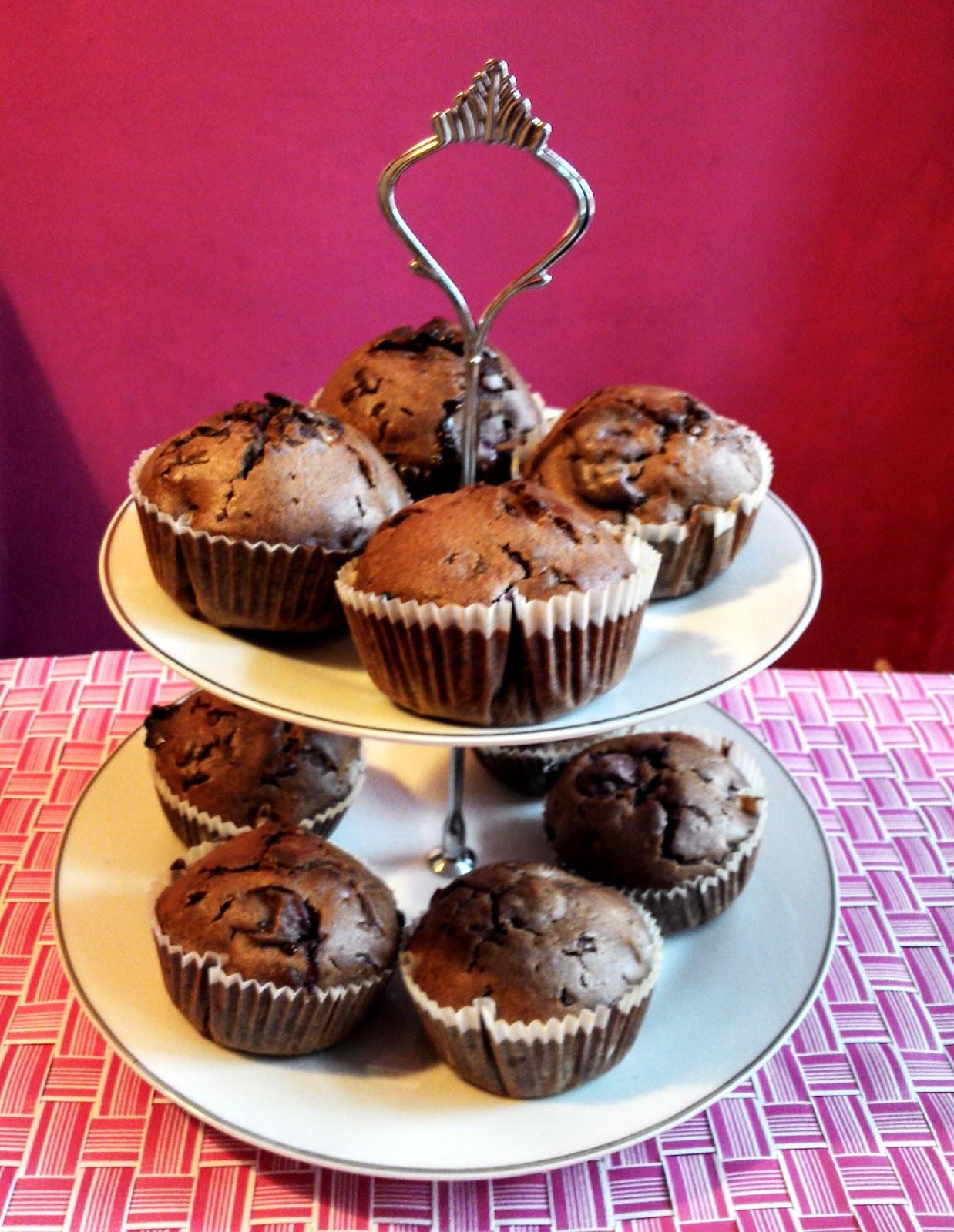 Rezept Schoko-Kirsch-Muffins