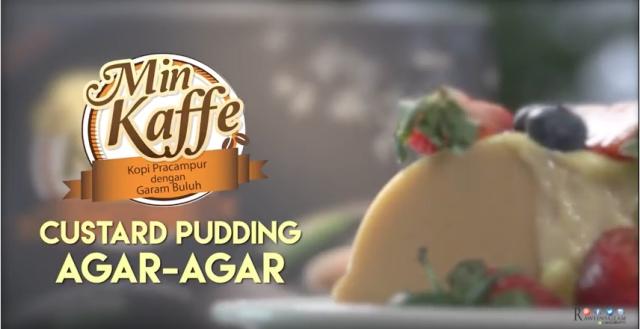 Aidilfitri, Hari raya, Open House, Juada raya, Custard Pudding, Min Kaffe, Min Kaffe Custard Pudding Agar-Agar, Dessert, byrawlins, Hanis Haizi Protege