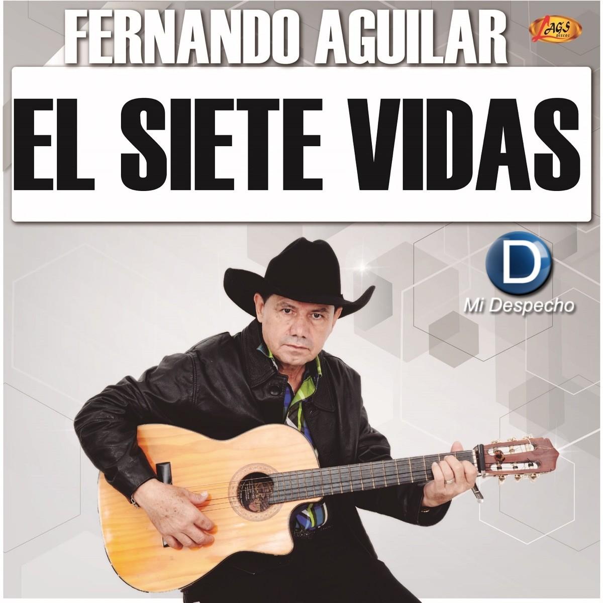 Fernando Aguilar El Siete Vidas Frontal