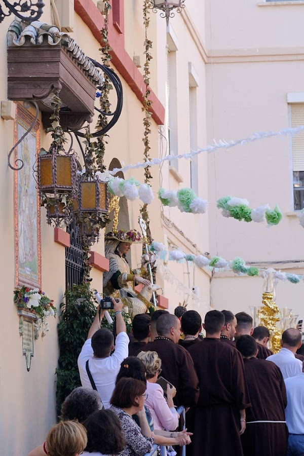 The church of the Divine Shepherdess of Malaga will open its door on the day of the Praise Procession