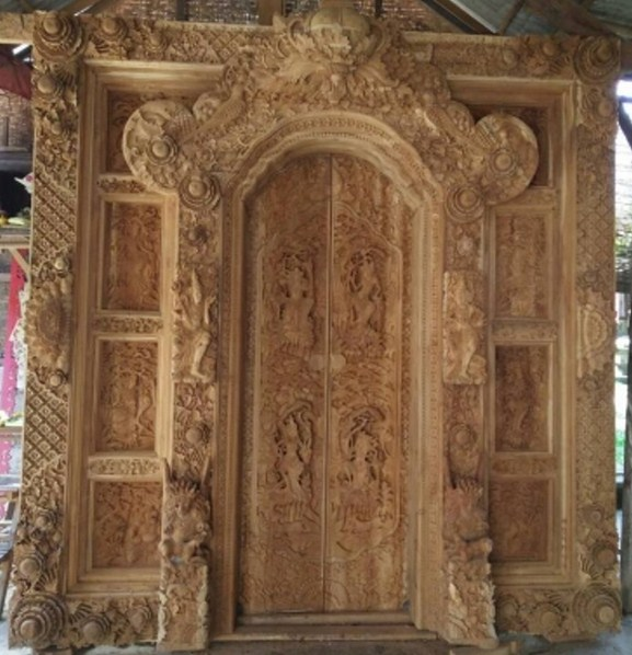Harga Pintu Gebyok Bali