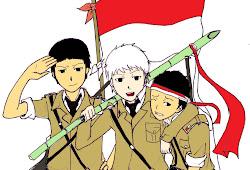 30 Trend Terbaru Gambar Orang Bawa Bendera Merah Putih Kartun Karina Manrin