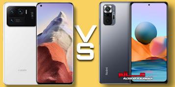 مقارنة بين شاومي Redmi Note 10 Pro و mi 11 Ultra