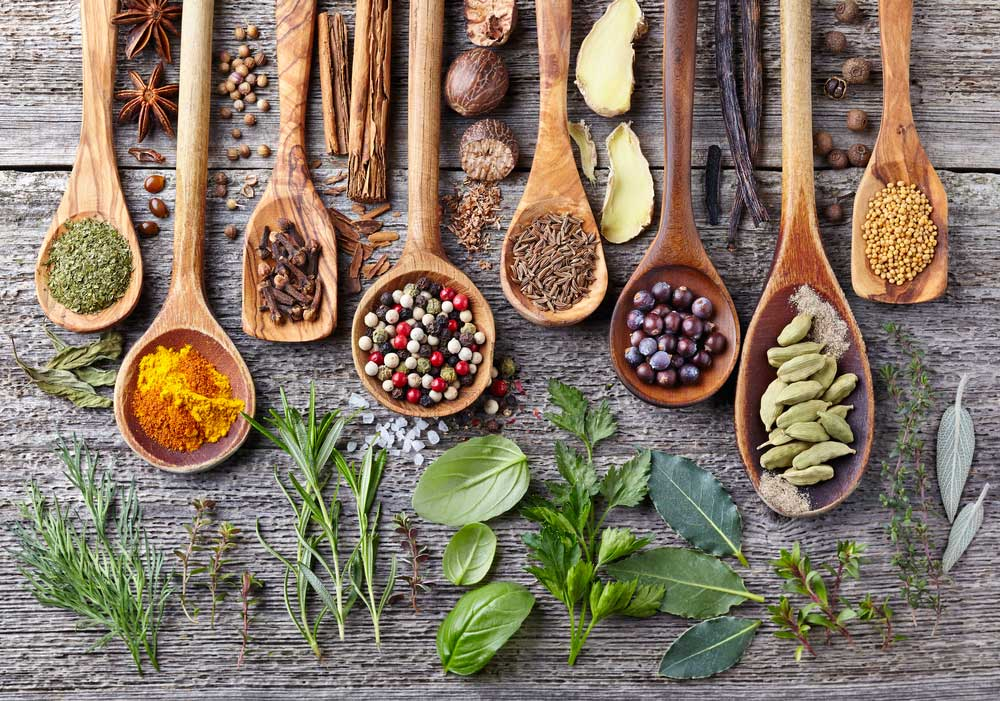 5 types of herbs and spices for better taste and health