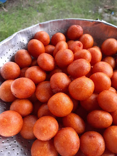 Resepi bebola ubi kopong yang sangat sedap boleh dimakan dengan serbuk milo dan nutela