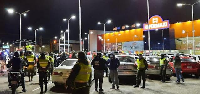 Santa Cruz: Policía interviene circuito de carreras clandestinas