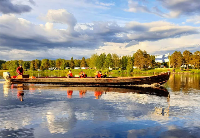 Pääseekö Rovaniemellä veneen kyytiin
