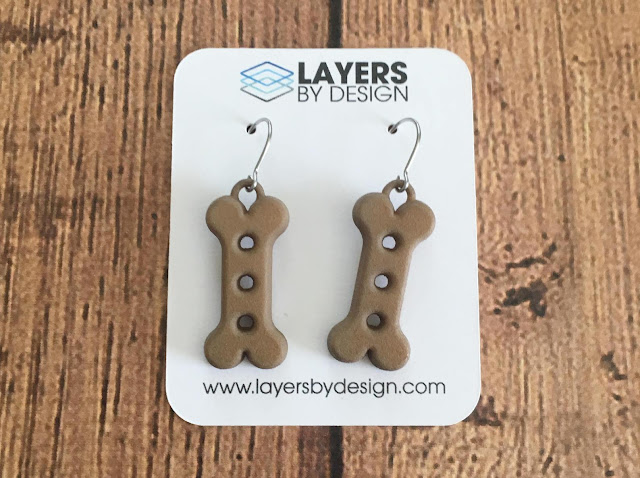 Fun 3D Printed Jewelry by LayersByDesign