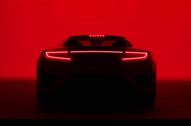Acura Debuts New Supercar NSX 2016 Super Bowl 50 Commercial