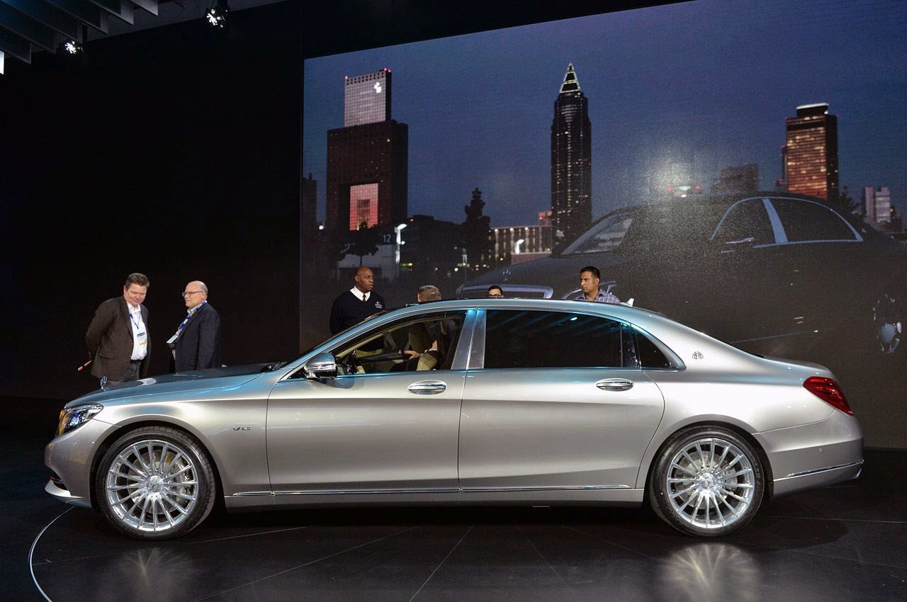 Mercedes-Maybach S600 Salón de Los Ángeles 2014 (vídeo)