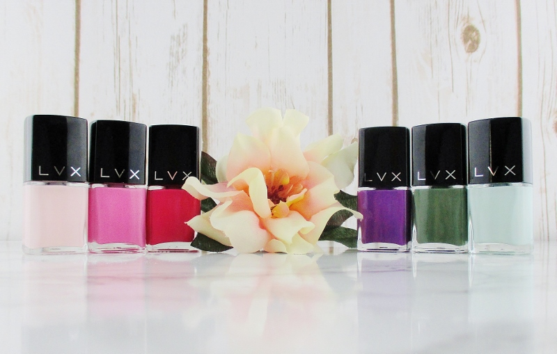 LVX Luxury Nail Lacquer - Spring/Summer Collection Review and ...