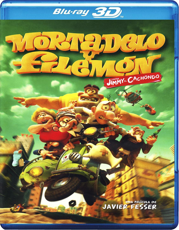 Mortadelo y Filemón contra Jimmy el Cachondo [2014] [BD50] [Español] [3D]