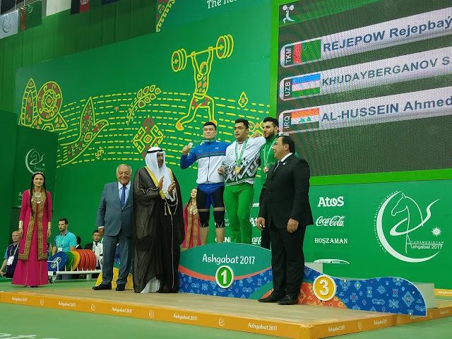 Rejepbay Rejepov turcomenistão levantamento de pesos