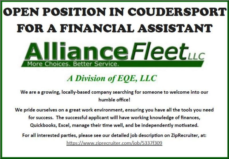 https://www.ziprecruiter.com/jobs/alliance-fleet-a0fa0ec3/financial-assistant-5337f309
