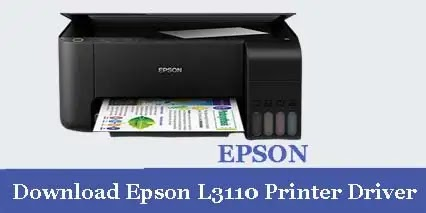 EPSON EcoTank L3110 PRINTER SCANNER DRIVER