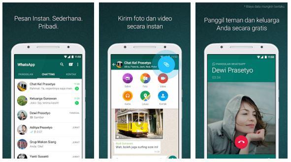 Fitur terbaru VideoCall dari WhatsApp akan segera hadir
