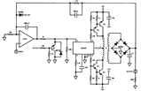 High Voltage High Current Booster Circuit Diagram using LM3524