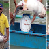 Isang 25.5 kilo na cream dory ang nahuli sa Marikina River