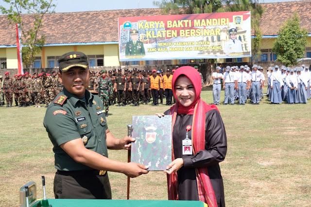Karya Bhakti Mandiri Jembatan Penghubung TNI Dan Rakyat