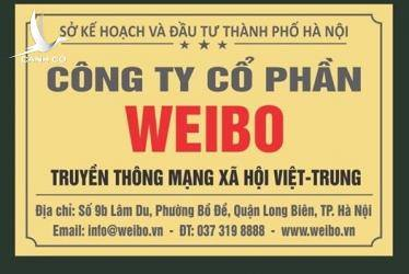 """Đừng để """"con cáo"""" Weibo gửi chân trên lãnh thổ Việt Nam"""