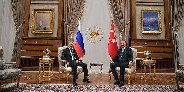 Σύμφωνία Πούτιν-Ερντογάν για «ζώνη ασφαλείας» στη Συρία