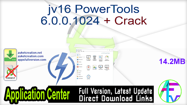 jv16 PowerTools 6.0.0.1024 + Crack