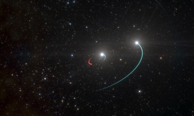 A black hole was found near to the Earth: HR 6819 star system