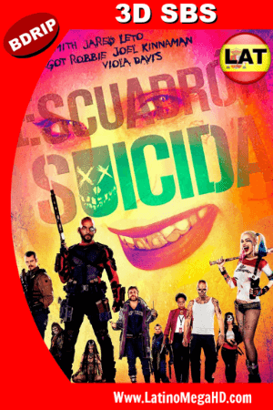 Escuadron Suicida (2016) Latino Full 3D SBS BDRIP 1080P ()