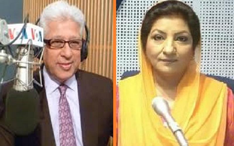 PTV Old Newscasters Khalid Hameed & Ishrat Fatima ptvold.com