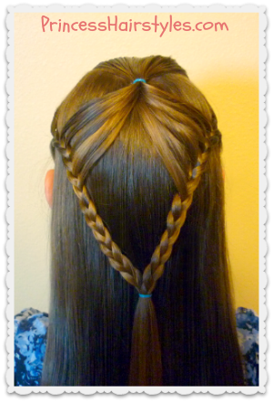 Half Up Hairstyle, Fairy Wings Braid | Hairstyles For Girls ...