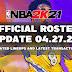 NBA 2K21 OFFICIAL ROSTER UPDATE 04.27.21