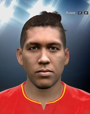 Roberto Firmino PES2016 Face By DzGeNiO