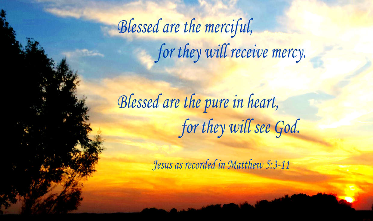 14c9fceaee2 There is a palpable progression in Jesus' teaching of the Beatitudes. He  begins with the blessing that is experienced even (or especially) when our  ...