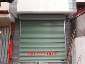 .Lắp cửa cuốn tấm liền tại huyện Ứng Hòa (p1)